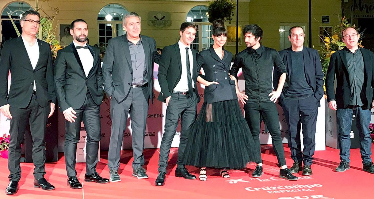 Presentación de El doble más quince en el Festival de cine de Málaga